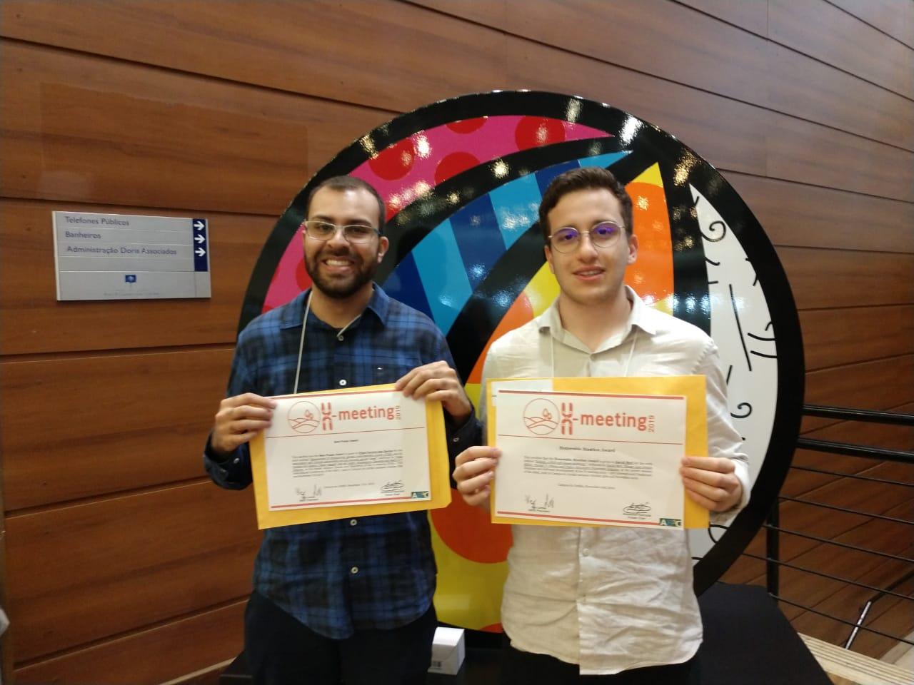 Image of Our students were awarded at X-Meeting 2019